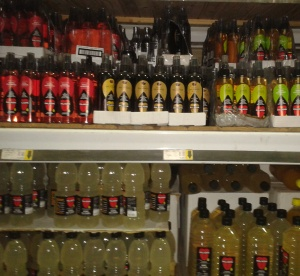 Paladin Vinegars and Lemon Juice in Stores