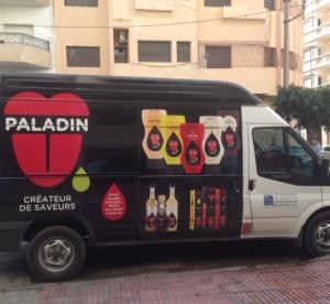 carrinha em Casablanca